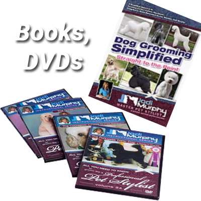 Dog Grooming Books, DVDs